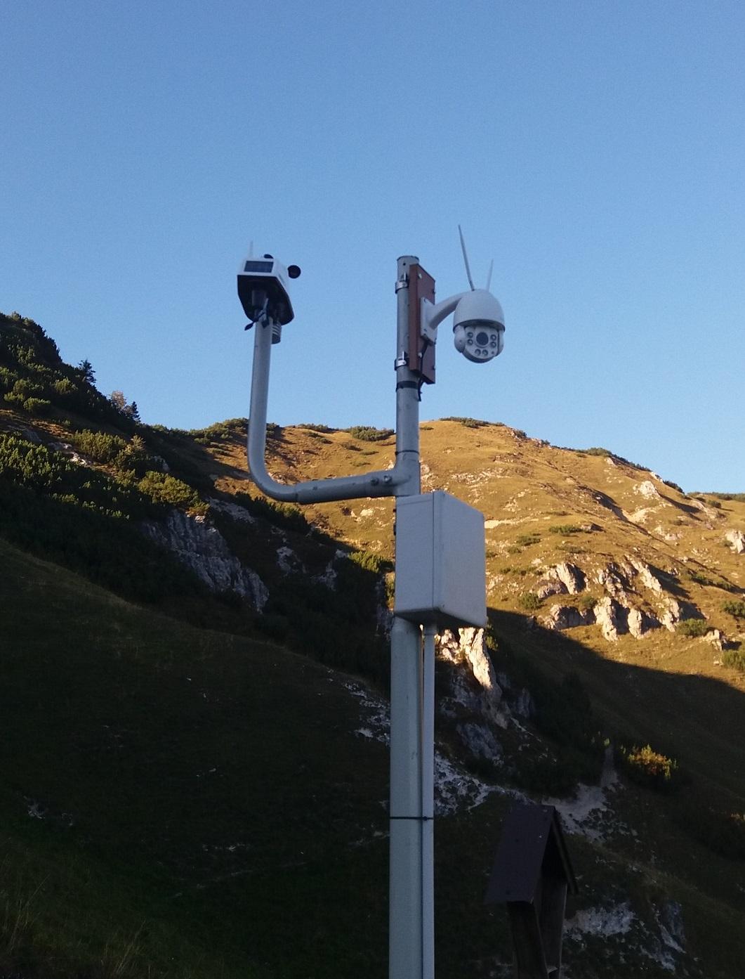 Stazione meteorologica di Malga Nardis - Davis Vantage Vue